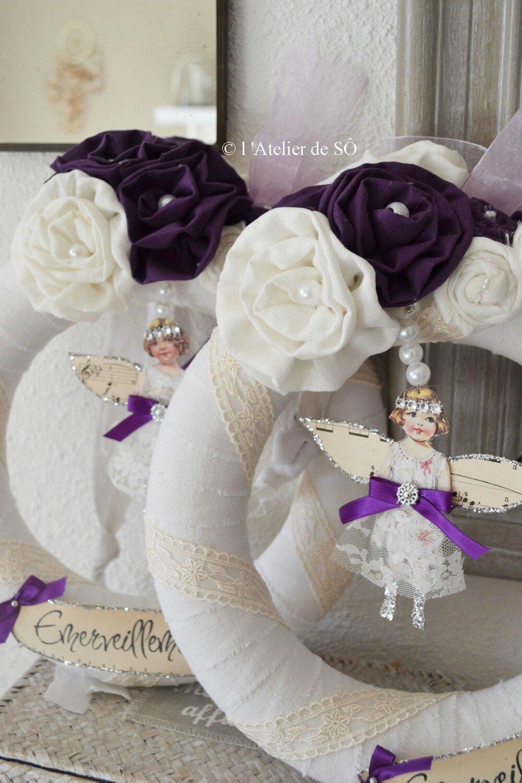 couronnes violet - 1