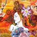 Azoline 2014-DT Carabelle Dame aux fleurs