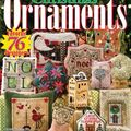 Just cross stitch christmas ornaments 2008