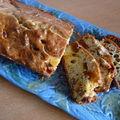 cake figues noix et foie gras