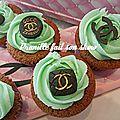 Cupcakes de marques .