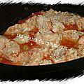 Sauté de porc aux olives