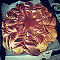 Recette : brioche étoile + nutella maison