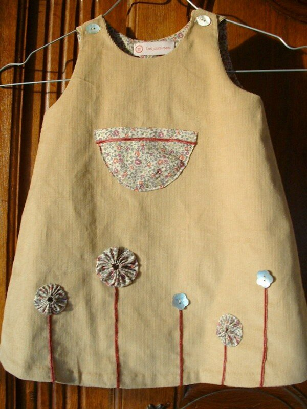 Robe Liberty Citronille pour Héloïse