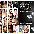 Mr gay monde 2013 - la france en route vers le top avec armando santos