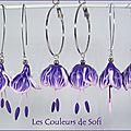bo clochettes violettes