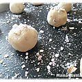 Biscuits aux éclats de dragées