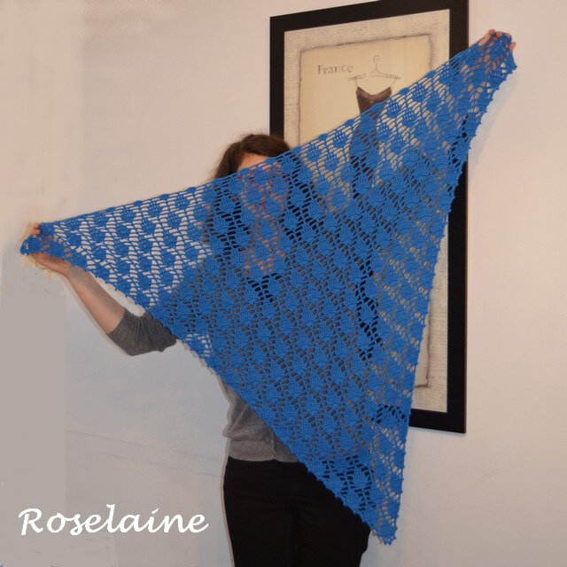 Roselaine Lime Pickle scarf 3