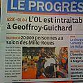 Les journaux sont livrés