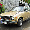 <b>HONDA</b> Civic berline 3 portes 1977