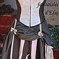 La culotte du costume steampunk