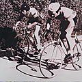 Guy queffelec féru et champion de vélo [pleyben manoir du birit]
