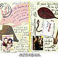 Page d'herbier de poche n°29 recto
