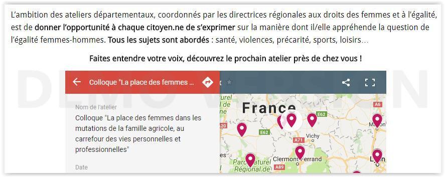 """Le symposium inscrit dans le """"TOUR DE FRANCE DE L'EGALITÉ"""" plus près du monde agricole. Faites aussi entendre votre voix!"""