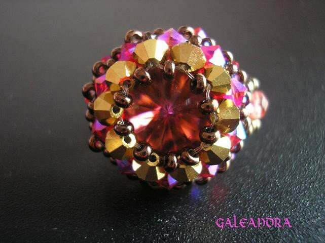 Bague bouton d´or cathedrale