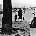 Henri Cartier-Bresson_Paris, pont-des-arts, 1953