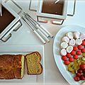 Fondues au toblerone et au chocolat praliné