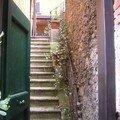 PORTOFINO Petite rue en escalier