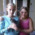 Marine & Clarisse ont trouvé une petite chatte...