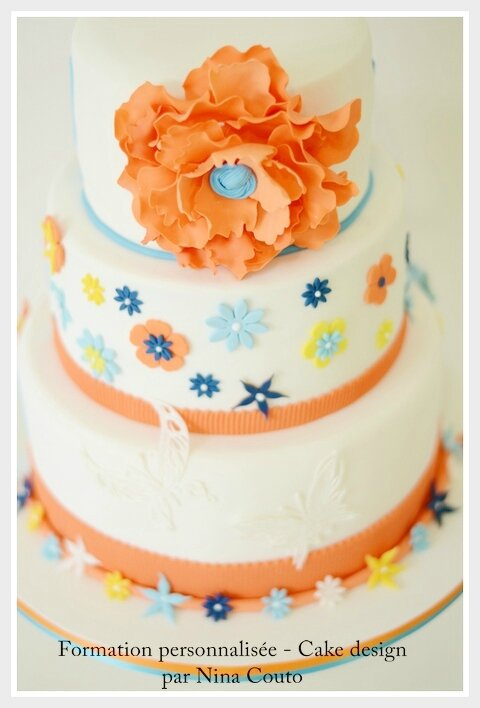 wedding cake couleurs nimes 2