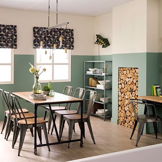 Farrow-Ball-Chappell-Green-paint-Dining-room