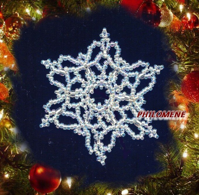 Snowflake (d'après Bead and Button)