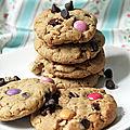 <b>Cookies</b> au beurre de cacahuètes