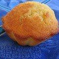 Muffins moelleux au pamplemousse...mais au goût de madeleine