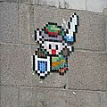 Space invader #2 (street art in nantes)