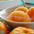Sorbet aux mandarines