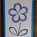 carte brodee fleur 2