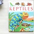 Les reptiles, collection la grande imagerie, <b>éditions</b> <b>Fleurus</b> 1999