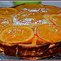 Cheesecake à l'orange