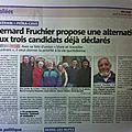 Notre liste dans la presse (Nice Matin 20 02 <b>2014</b>) Nòstra tièra dins la pressa
