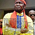 Kongo dieto 3172 : le grand maitre muanda nsemi parle de l'arrivee de nkua tulendo en ce debut de l'ere du verseau !