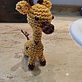 <b>Amigurumi</b> mini <b>girafe</b>