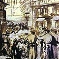 Manet, la barricade