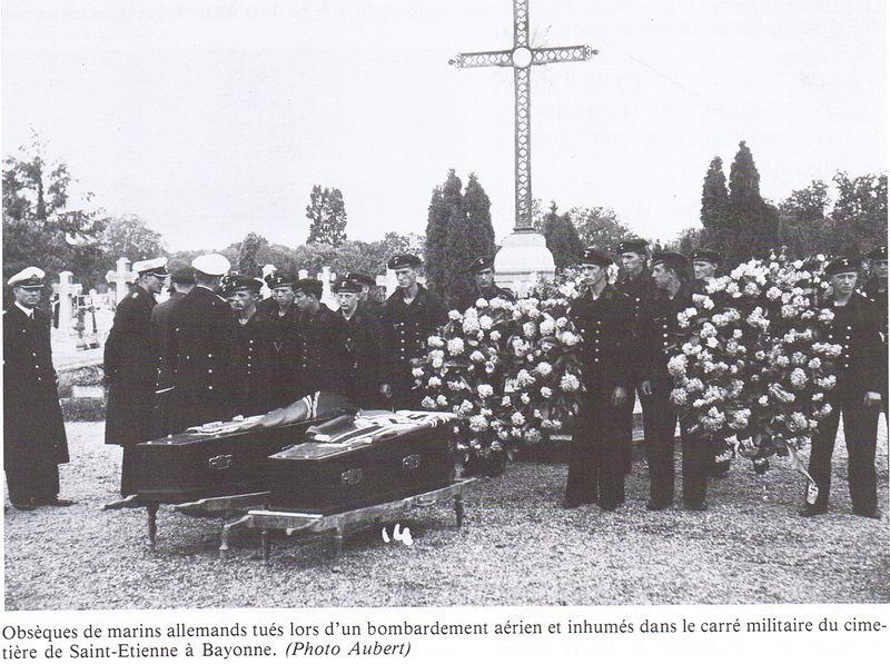 Cimetière Allemands à Bayonne