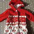 Manteau clayeux 12 mois