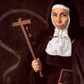 1620 : Abbesse JERONIMA DE LA FUENTE, portrait par Vélasquez, co
