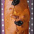 Cake aux pruneaux