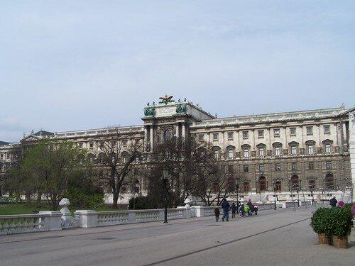 Vienne-Hofburg cour intérieure Neue Hofburg