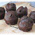 Mini-cakes au chocolat