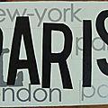 Cadre Paris PL