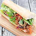 Sandwich Banh Mi au <b>Pulled</b> <b>Pork</b>