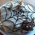 gâteau toile d'<b>araignée</b>