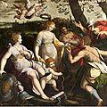 Ecole de Parme de la fin du XVIème siècle - Le <b>Jugement</b> de <b>Pâris</b>