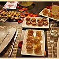 <3 repas de la saint-valentin 2013 <3 - apéritif