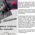 Spectacle : etty hillesum, l'espace intime du monde