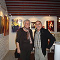 Monsieur Giovani Giambra sculpteur et madame